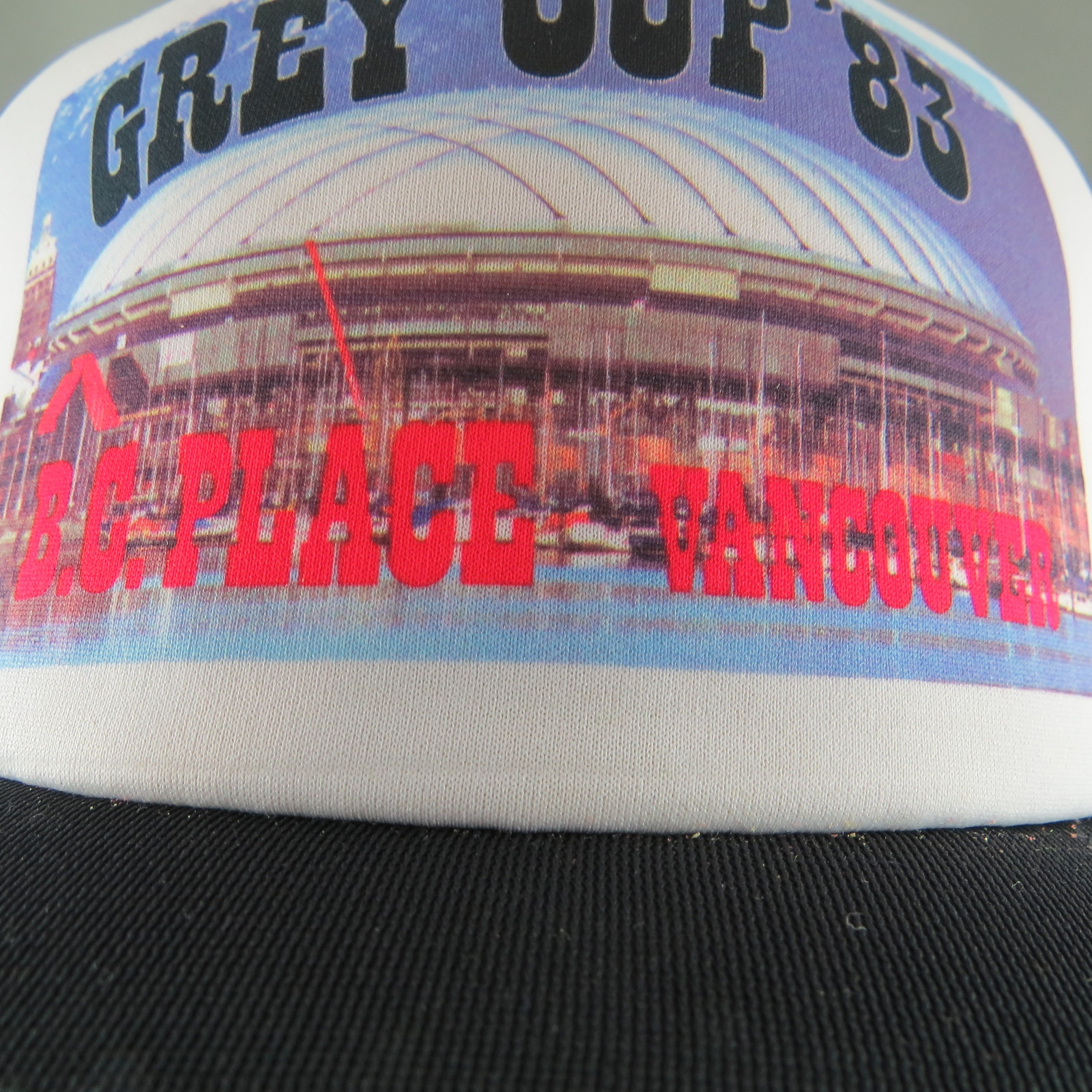 CFL Trucker Hat (VTG) - Grey Cup 1983 Official Trucker Hat - Adult Snapback