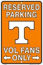 Tennessee Volunteers, VOL Fans Only, Parking Si... - $5.93