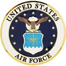 "U.S. Air Force Medallion Emblem (4"") - $18.80"