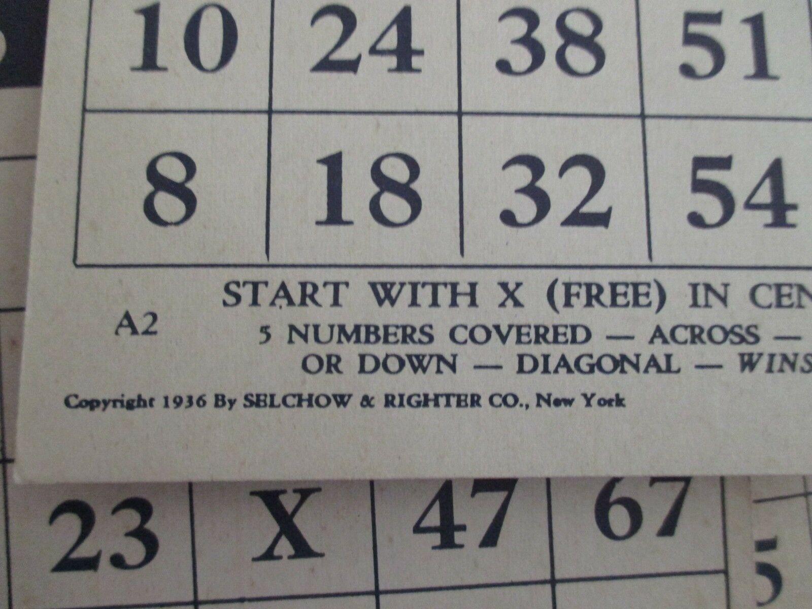 Vintage Bingo Game in Box, J. Pressman Co., New York image 6