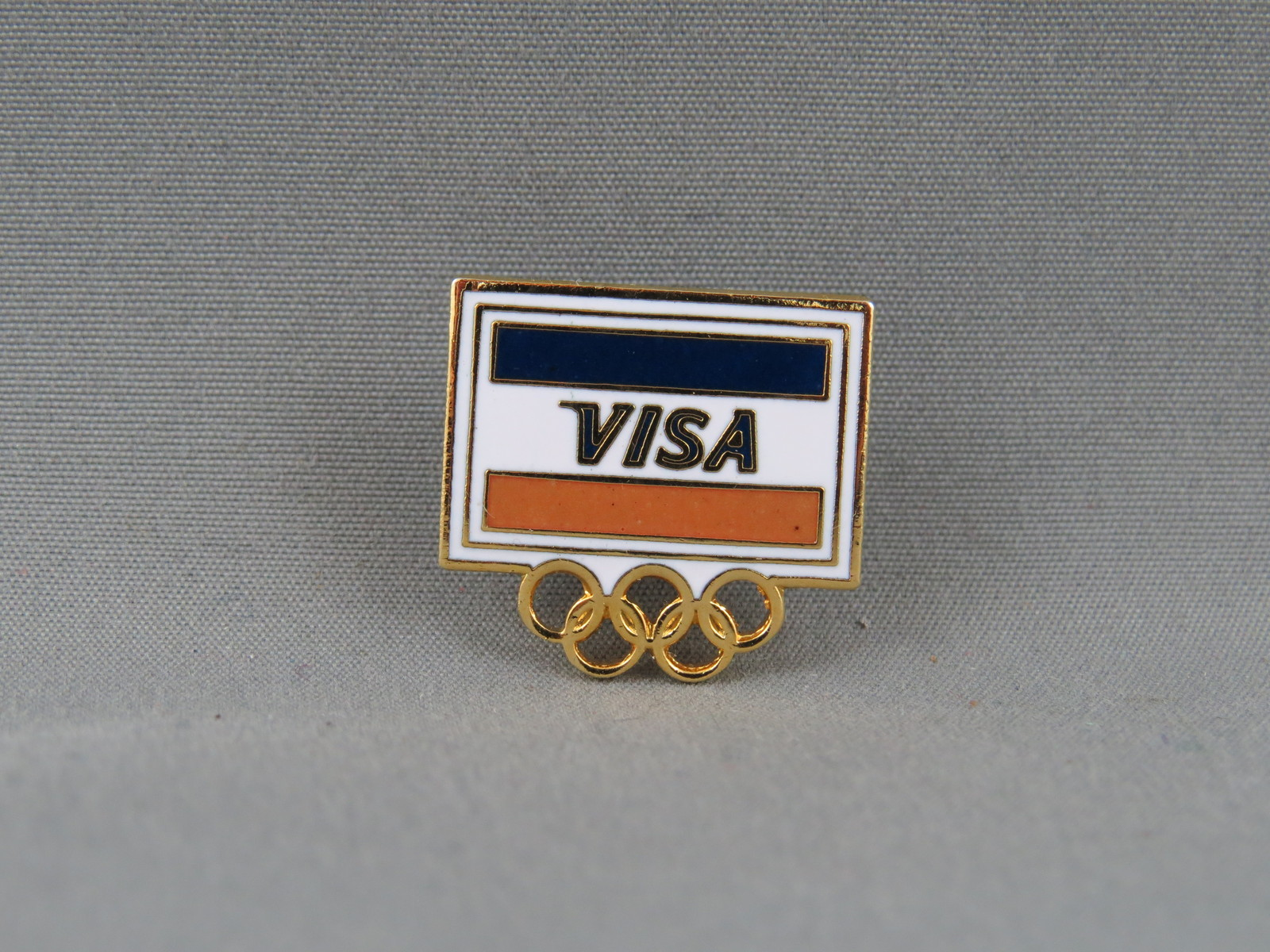 Primary image for 1988 Winter Olympic Games - Visa Sponsor Pin - Calgary Canada 1988