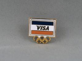1988 Winter Olympic Games - Visa Sponsor Pin - Calgary Canada 1988  - $15.00