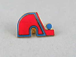 Retro Quebec Nordiques Lapel Pin - Don in Team Colours - Hard to Find  - $19.00