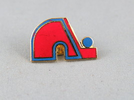 Retro Quebec Nordiques Lapel Pin - Don in Team Colours - Hard to Find  image 2