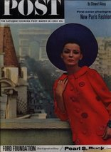 Saturday Evening Post March 16, 1963 New Paris Fashions [Journal] by none - $19.75