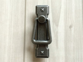 "2.2"" Dresser Drawer Pulls Handles Knobs Cabinet Pull Handle Antique Silv... - $7.50"