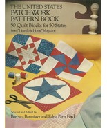 book-The United States Patchwork Pattern Book (Dover Quilting) - $9.99