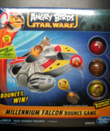 Hasbro 2012 Angry Birds Star Wars Millennium Falcon Bounce Game Unused S... - £14.62 GBP