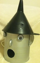Handmade Tinman Bird House Wizard Of Oz Tin Man... - $23.36