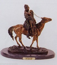 Farewell Kiss Solid Lost Wax Bronze Statue Sculpture by Aahede - $1,200.00