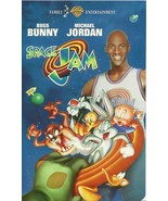 Space Jam VHS Bugs Bunny Michael Jordan Bill Murray Warner Brothers  - $2.69