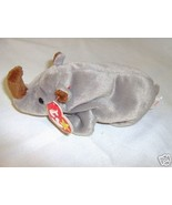 Spike, the Rhinoceros - Retired Beanie Babies-Near Mint