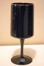 """Lenox Crystal Venture Black Water Goblet New With Tags 7"""" - $13.49"""