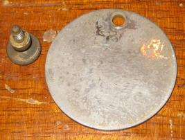 Antique Free Vibrating Shuttle Front Arm Inspection Cover w/ Screw - $9.00