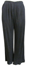 Chicos Size 1 Small Size 8-10 Black Travelers P... - $28.04
