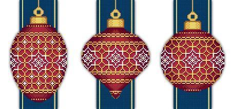 Red faberge christmas ornaments collection iv 2321