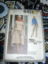 Simplicity Sewing Pattern 8423 ~ Sizes 8 10 12 ~ Jacket - Skirt - Pants ~ FF - $3.99