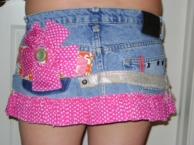 Customized Mini Skirt