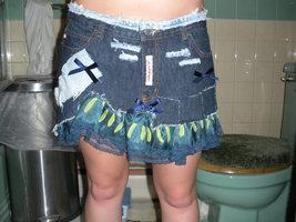 Customized Mini Skirt - $20.00