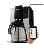 Coffee Maker Wifi-Enabled 10-Cup Optimal Brew Coffeemaker - $3.935,43 MXN
