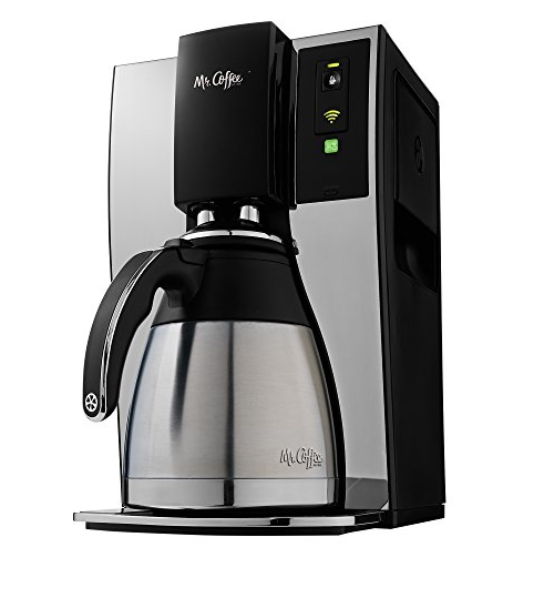 Coffee Maker Wifi-Enabled 10-Cup Optimal Brew Coffeemaker