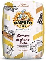 Caputo Semola Di Grano Duro Rimacinata Semolina Flour 1 kg Bag image 2