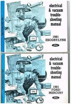 Electrical & Vacuum Trouble-Shooting Manual 1981 Ford/Mercury & 1981 Escort/Lynx - $0.99