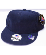 Brand New, Navy Blue, Wide-Brimmed Baseball Caps by City Big - XL (7 3/4) - $3.95
