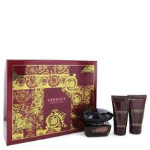 Crystal Noir by Versace Gift Set -- 1.7 oz Eau De Toilette Spray + 1.7 o... - $57.85