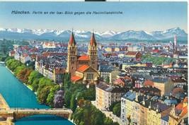 Germany, Munich, München, Partie an der Isar. Blick gegen die Maximilia... - $7.99