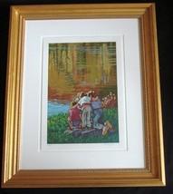 Framed Ltd Ed Serigraph Littorio Del Signore Th... - $285.00