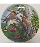 The Cedar Waxwing Collector Plate Knowles #18871C 1987 - $40.09