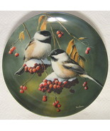 The Chickadee Collector Plate Knowles #17793C 1986 - $40.09