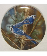 The Blue Jay Collector Plate Knowles #763G 1985 - $40.09