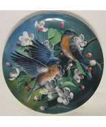 The Bluebird Collector Plate Knowles #7866C 1986 - $40.09