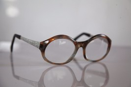 HAMPEL Eyewear, Crystal Brown Frame, Silver, RX-Able Prescription Lenses. - $25.74