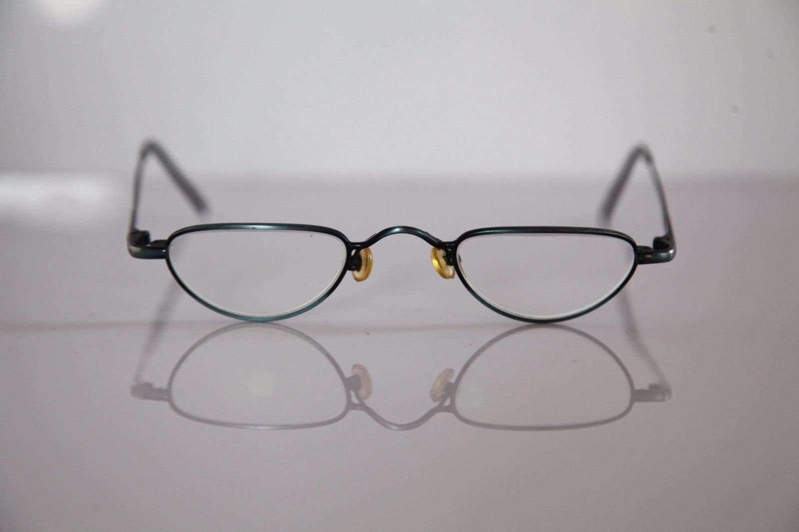 Eyewear, Metallic Blue Frame,  RX-Able Prescription Lenses.