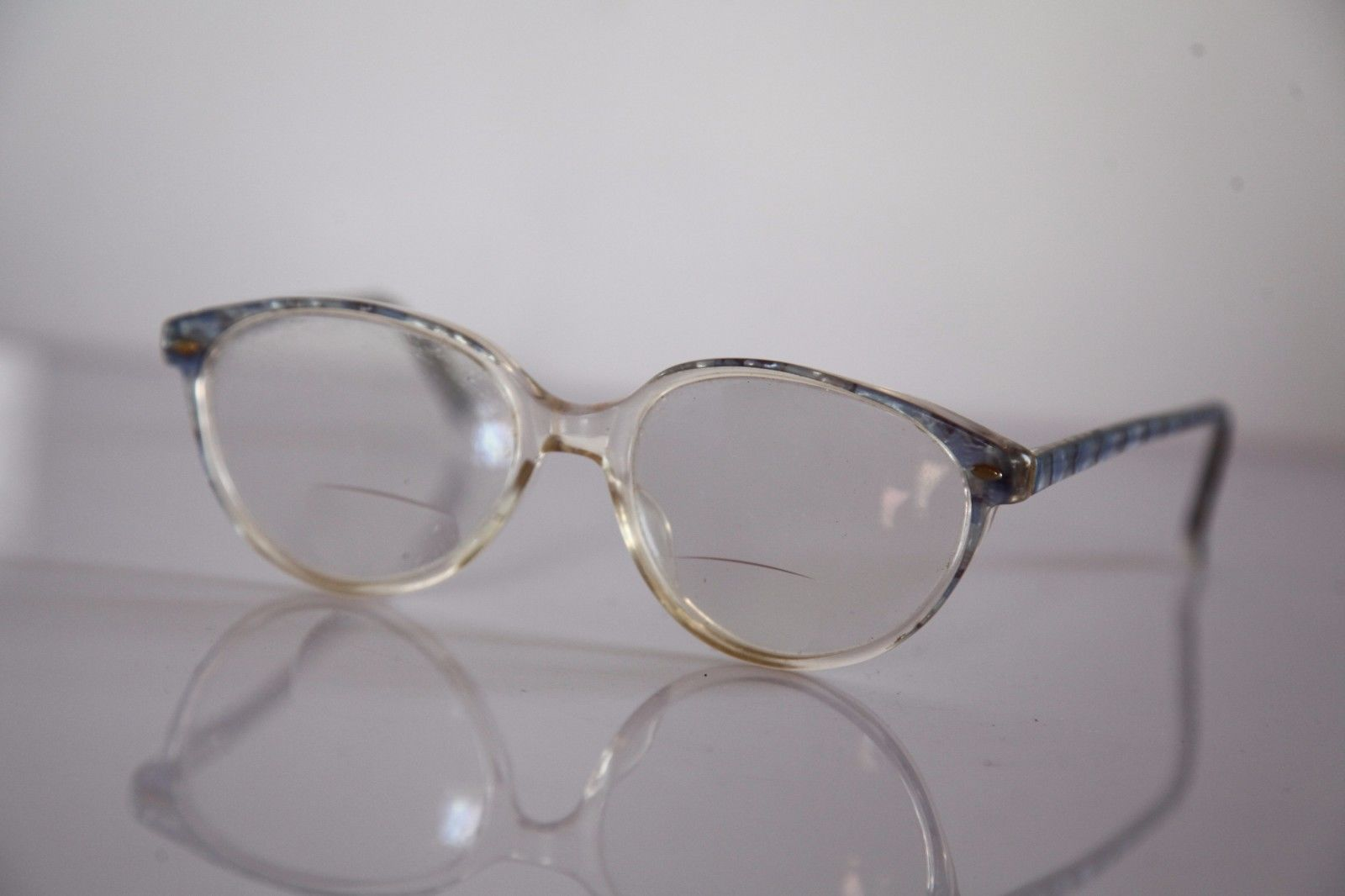 Eyewear, Crystal Multi-color  Frame, RX-Able Prescription Lenses.