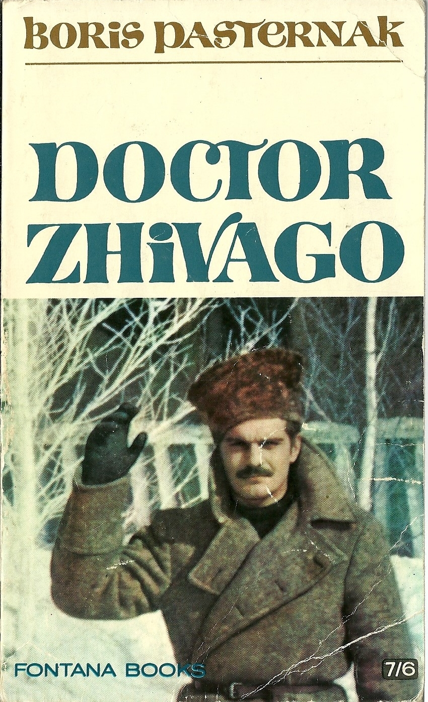 Primary image for Doctor Zhivago by Boris Pasternak Historical Novel Russia Softcover Book