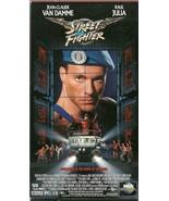Street Fighter VHS Jean-Claude Van Damme Raul Julia - $1.99