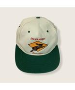 Jackrabbit Snowshoes Tan Green Cotton Snapback Adjustable Baseball Hat B... - $17.75