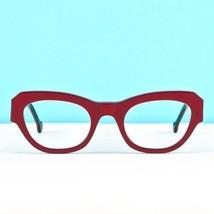 NEW L.A. Eyeworks Red Kitchen Eyewear Eyeglass Frames Glasses 610 Handmade Italy - $129.99