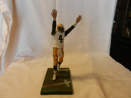 2003 Brett Favre #4 Green Bay Packers McFarlane Figurine White Uniform T... - $22.28
