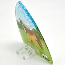 Fused Art Glass Mare & Foal Horse Nightlight Night Light Handmade in Ecuador image 4