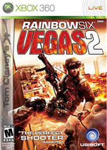 Tom Clancy's Rainbow Six: Vegas 2 (Microsoft Xbox 360, 2008) - $3.83