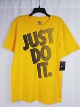 Nike Mens Classic Tee Just Do it Yellow Sz XL - $14.99