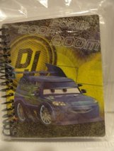 Cars Boom Boom Boom Glitter Spiral Journal - 120 Sheets - $1.49