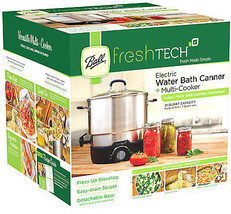 Freshtech Waterbath Canner & Multi-Cooker, Electric, 21-Qt. - $159.38
