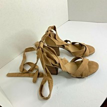 Reaction Kenneth Cole Womens Sz 9  Ankle Strap Heels Sandals Shoes Chunk... - $23.36