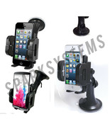 UNIVERSAL IN CAR MOBILE PHONE GPS MOUNT HOLDER CARRIER CRADLE D.LOCKING ... - $5.66